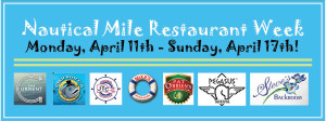 NM Restaurant Week! MIKE'S ON THE WATER MENU