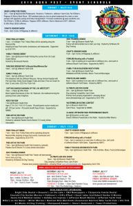 Aquafest2016Schedule